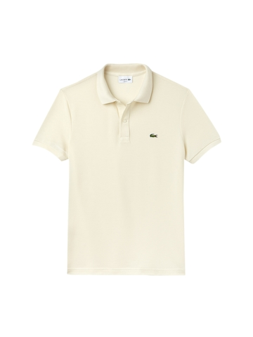 0252b59eba7f 50% OFF on Lacoste Men Off-White Solid Polo Collar T-shirt on Myntra ...