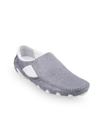 8c908091270 Buy J.FONTINI Men Grey Loafers on Myntra
