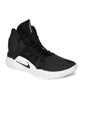 brand new f45ae 1dd98 Buy Nike Men Black Hyperdunk X Mid-Top Basketball Shoes on Myntra    PaisaWapas.com