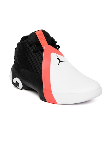 finest selection 284a8 0dc33 Buy Nike Men Black   White Jordan Ultra Fly 3 Colourblocked Basketball Shoes  on Myntra   PaisaWapas.com