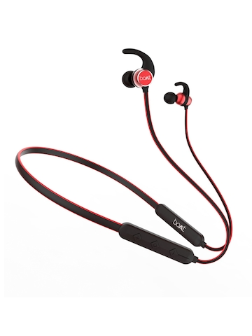 49 Off On Boat Rockerz 255 Unisex Red Wireless Bluetooth In Ear Headphones With Mic On Myntra Paisawapas Com