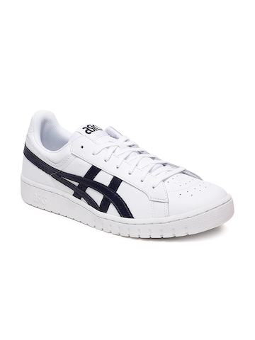 huge discount 69f61 ac5f8 ASICS Tiger Men White Solid Gel-PTG Casual Shoes