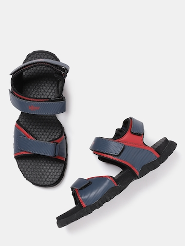 70% OFF on Roadster Women Navy Blue   Red Perforated Sports Sandals on  Myntra  7b2021f9ce