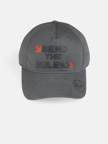 49763aa654b 50% OFF on Roadster Unisex Grey Printed Baseball Cap