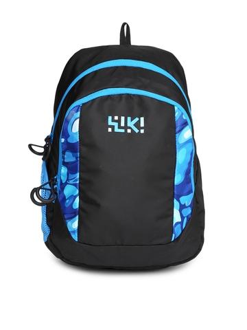 Buy Wiki By Wildcraft Kids Black Blue Printed Backpack On Myntra