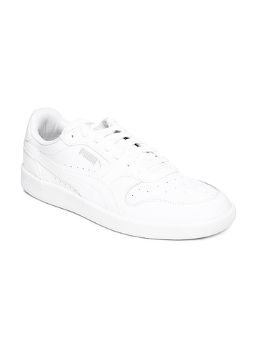 103a7b0a0ba 45% OFF on PUMA Men White Icra Trainer L Casual Shoes on Myntra ...