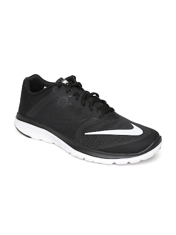 e42b4a458d0d3 50% OFF on Nike Men Black FS LITE3 Running Shoes on Myntra ...