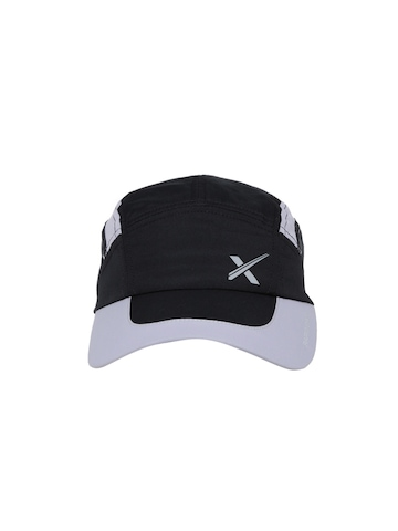 27d3e50204e Buy HRX by Hrithik Roshan Men Black   Grey Cap on Myntra ...