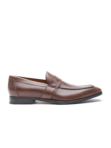 c844f2a1a13 Buy GEOX Respira Men Brown Breathable Italian Patent Leather Formal Shoes  on Myntra   PaisaWapas.com