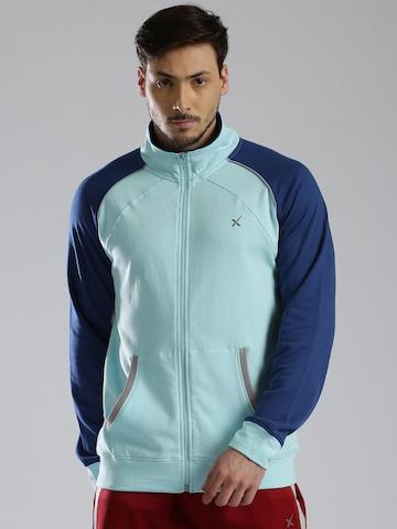HRX Active by Hrithik Roshan Blue Sweatshirt