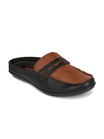 60% OFF on Prolific Men Black   Brown Sandals on Myntra  c0a4c1d5555b
