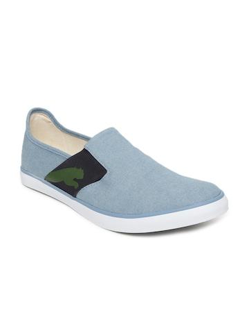 c11b25590abc 50% OFF on PUMA Unisex Blue Solid Lazy Slip-On Sneakers on Myntra ...