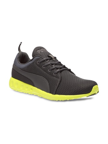 75ae63f9073b 60% OFF on PUMA Men Grey Carson Runner IDP H2T Running Shoes on Myntra