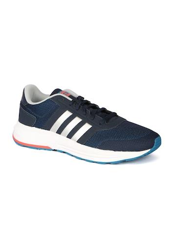 buy online a7c2e 2ba3d Buy Adidas NEO Men Navy Cloudfoam Saturn Sneakers on Myntra  PaisaWapas.com