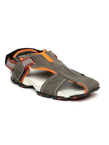 Buy Bata Men Grey Flash Sandals on Myntra  f45aefce6e7d