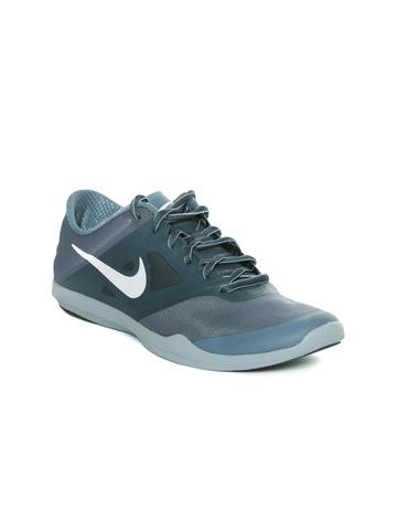 4c1eef7cee564 Buy Nike Women Blue   Grey Studio Trainer 2 Training Shoes on Myntra ...