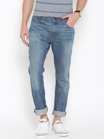 215a9676e Buy Tommy Hilfiger Men Blue Regular Fit Low-Rise Clean Look Jeans on Myntra  | PaisaWapas.com
