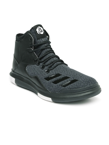225470dcde63 Buy Adidas Men Charcoal D Rose Lakeshore Ultra Basketball Shoes on Myntra