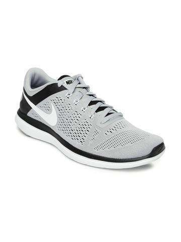 ee9bef6aa5e93 50% OFF on Nike Men Grey FLEX 2016 RN Running Shoes on Myntra ...