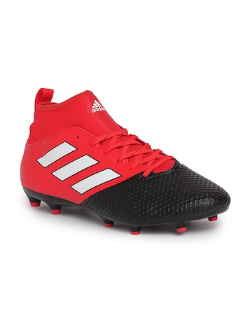 2d8954b0 Buy Adidas Men Red ACE 17.3 PRIMEMESH FG Football Shoes on Myntra |  PaisaWapas.com