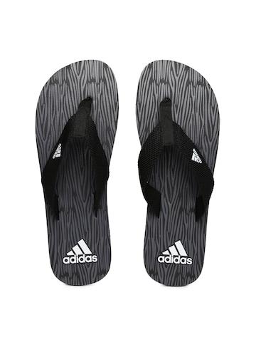 7c16e6c64be90 Buy Adidas Men Black Printed Aril Attack 2017 MS Flip-Flops on Myntra