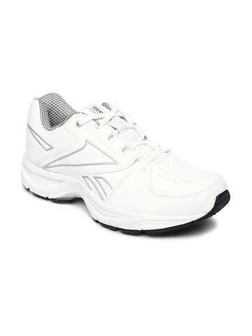 30% OFF on Reebok Men White Comfort Run LP Running Shoes on Myntra ... 1bce12104
