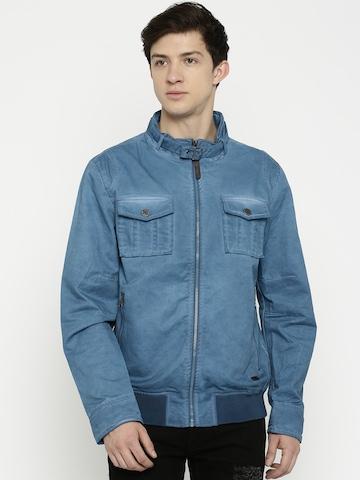 Ed Hardy Men Blue Jacket