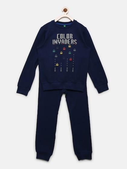 United Colors of Benetton Boys Set T-Shirt+Shorts Clothing