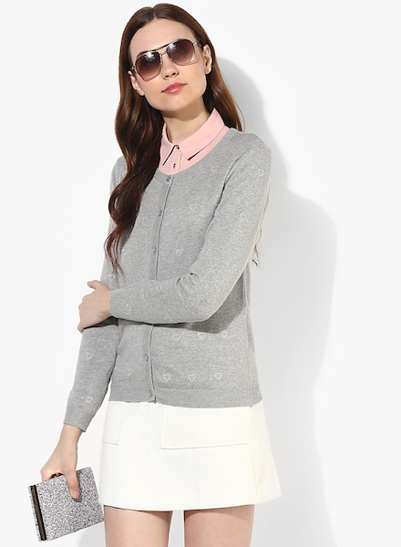 3cdaea5a43d Women Honey By Pantaloons Sweaters   Pullovers Price List in India ...
