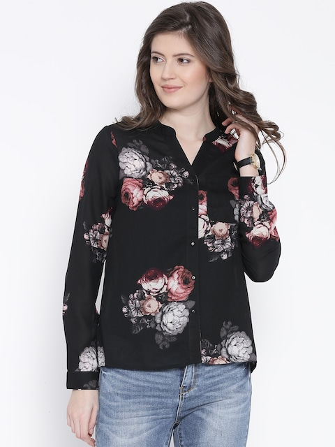 Discount Low Shipping Outlet 100% Authentic Vero Moda Floral Print Top Clearance Geniue Stockist exEIuxE