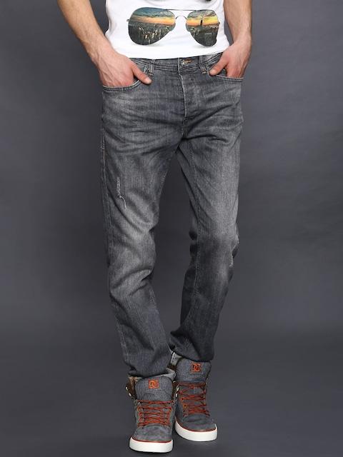 Twister Slim Fit Jeans In Grey Wash - Grey Blend cz39T