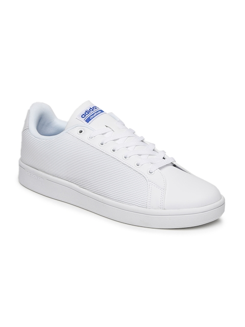 adidas neo cloudfoam mens white