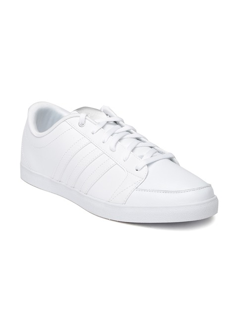 adidas neo casual white shoes