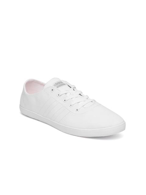 adidas neo cloudfoam women's white