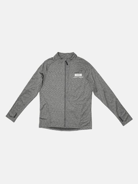 HRX by Hrithik Roshan Men Grey Self Design Open Front Jacket
