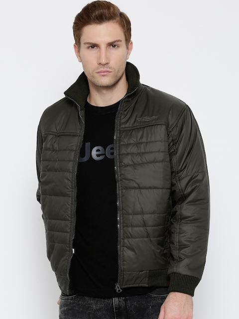 Locomotive Olive Green Padded Jacket