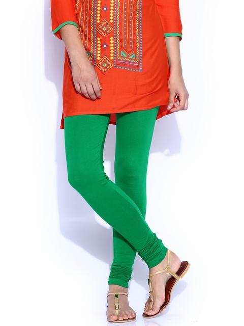 Aaboli Green Churidar Leggings