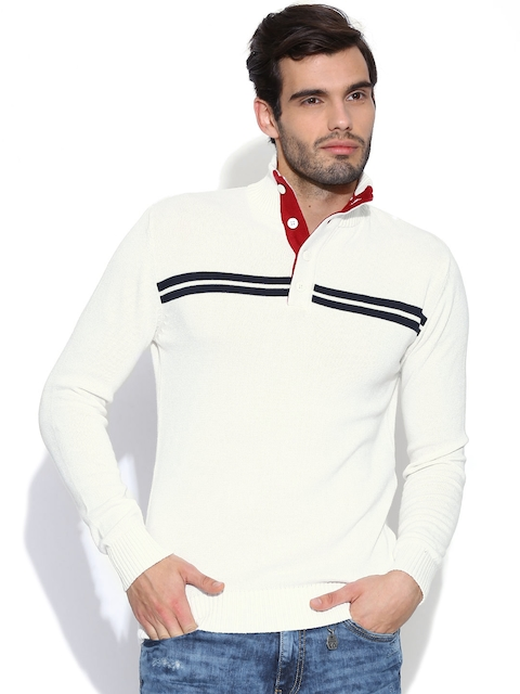 Pepe Jeans Off-White Sweater