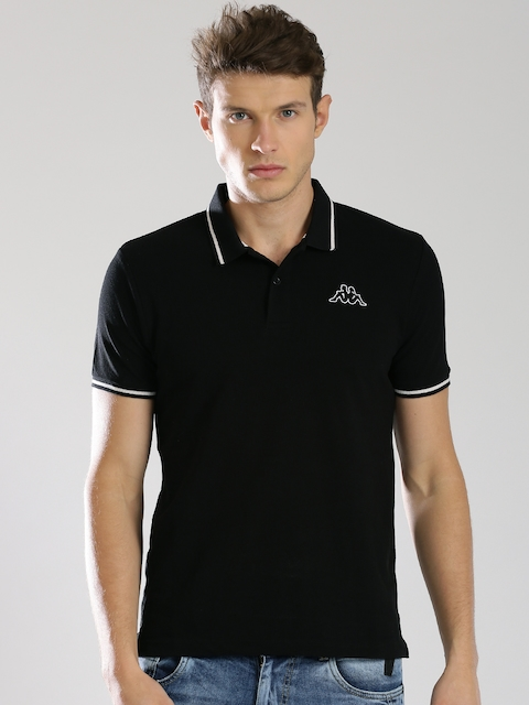 Kappa Black Polo T-shirt
