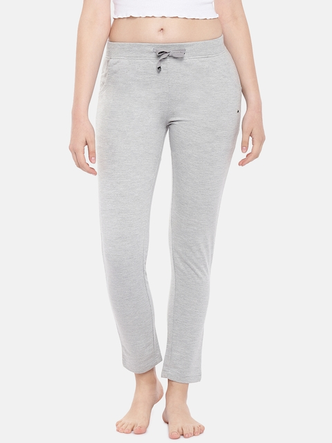 Sweet Dreams Women Grey Solid Lounge Pants F-LLP-4178