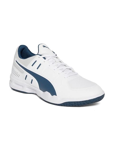 Puma Men White Auriz Walking Shoes