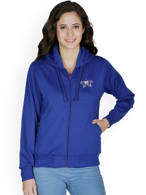 Cayman Blue Hooded Sweatshirt