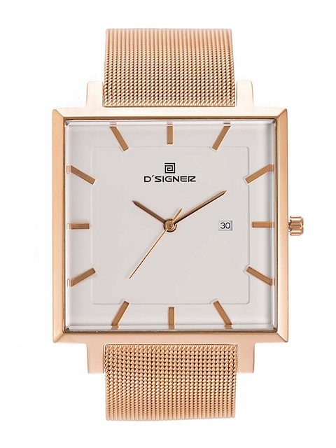 Dsigner Women White Dial Watch 610RGM