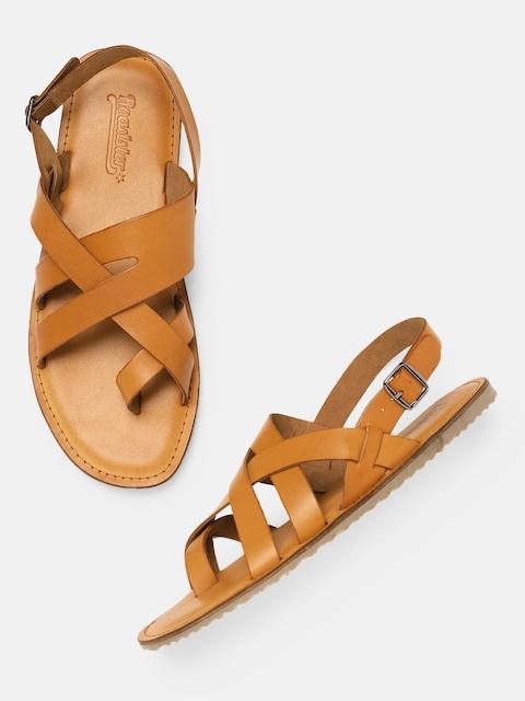 Roadster Men Tan Brown Sandals