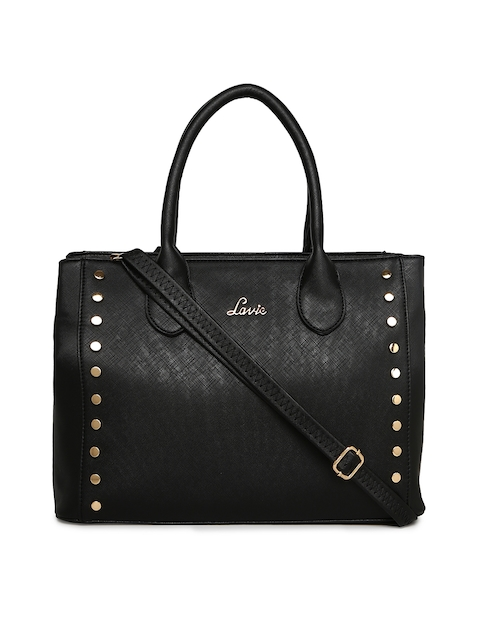 Lavie Women Black Solid Handheld Bag