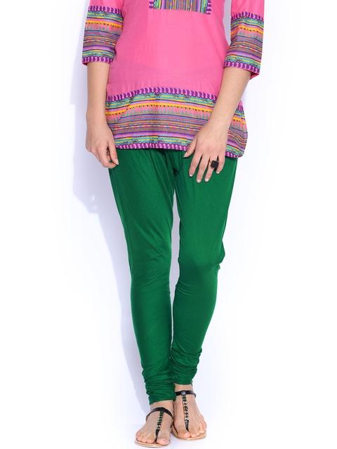 Rangmanch by Pantaloons Green Churidar