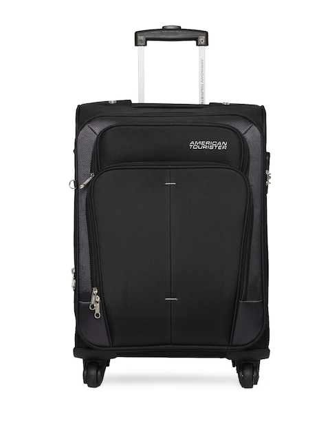 AMERICAN TOURISTER Unisex Black Large Trolley Bag