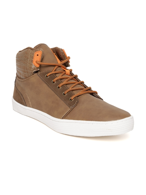 United Colors of Benetton Men Tan Brown Casual Shoes