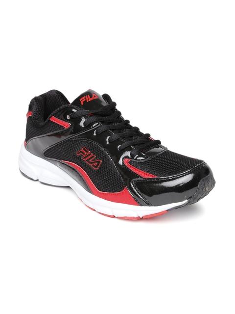 FILA Men Black Lamberto Running Shoes