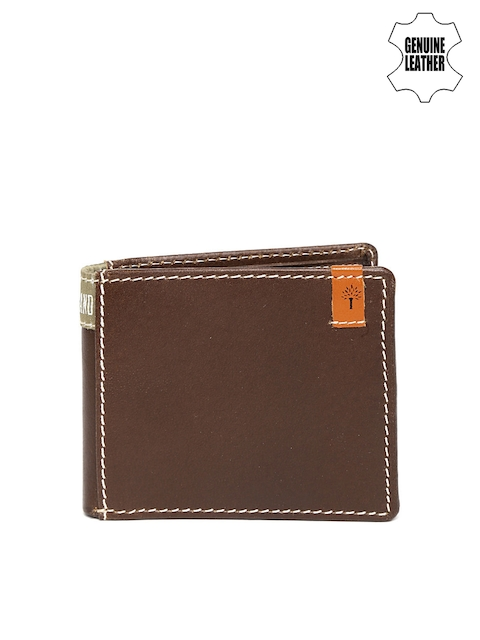 Woodland Men Brown Genuine Leather Wallet